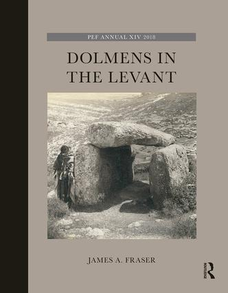 la couverture de Dolmens in the Levant