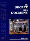 Couverture du Secret des dolmens.